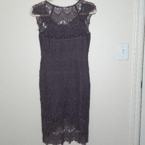 Free People Dresses - Free People Peekaboo Lace Slip Dress S